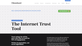 Internet trust tool tracking the spread of misinformation about coronavirus