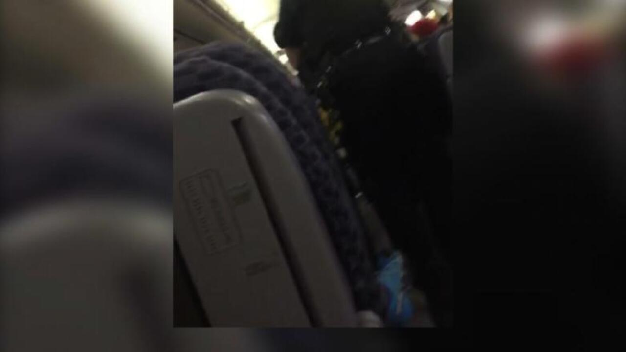 Man accused of doing unfathomable to sleeping woman on plane