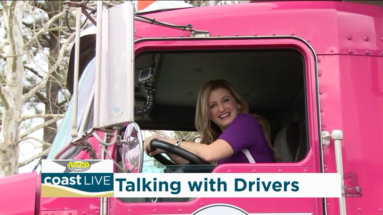What it takes to become a truck driver and those who love the life on CoastLive