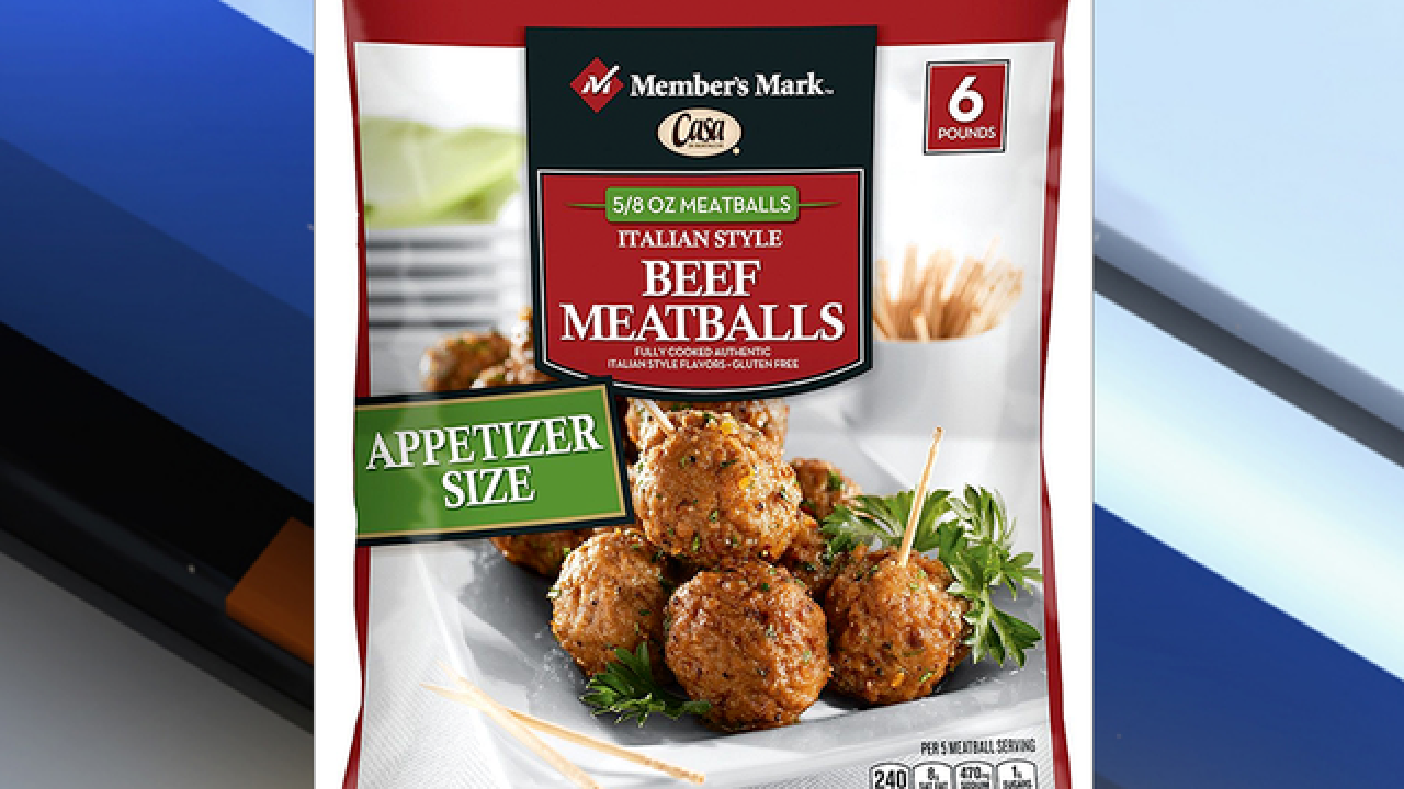 Member's Mark Casa Di Bertacchi Italian-Style Beef Meatballs shipped to Florida recalled