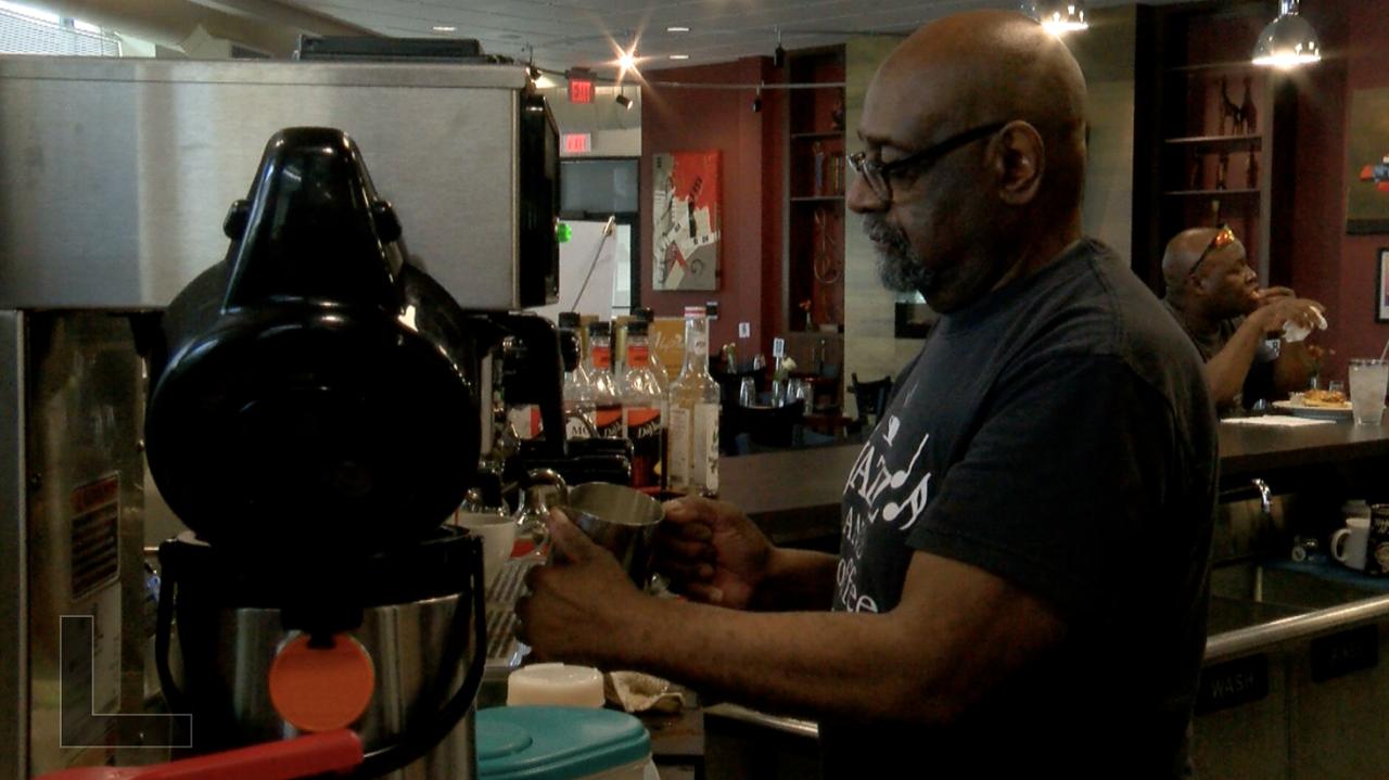 Sam Ed Belton, Owner of Sam's Place Jazz Cafe