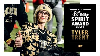 Tyler Trent named Disney Spirit Award winner