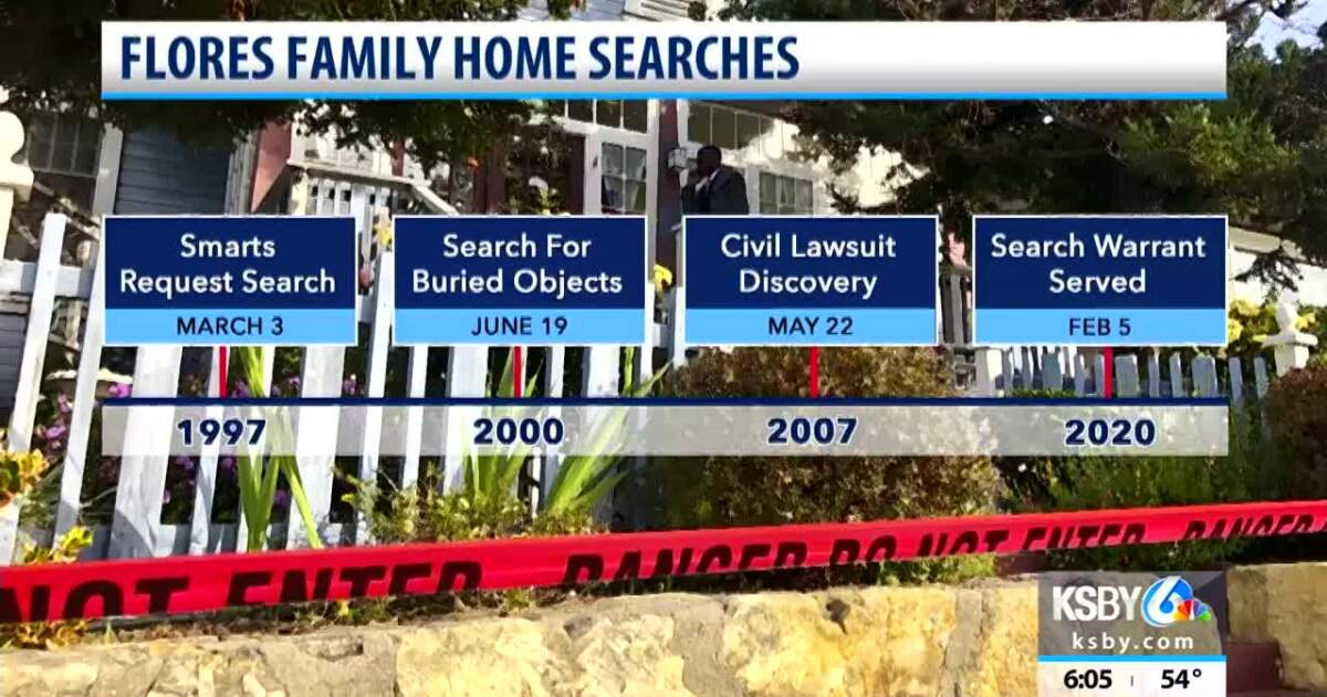 Flores home in Arroyo Grande the site of multiple searches in Kristin Smart case