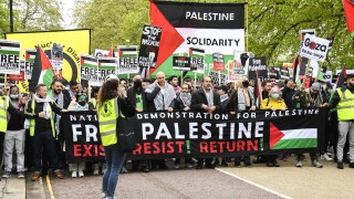Britain Israel Palestinians