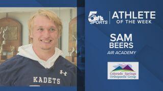 KOAA Athlete of the Week: Air Academy's Sam Beers