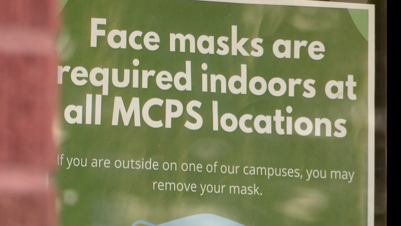 mcps face mask sign
