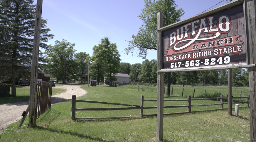 The former Buffalo Ranch now home to Wild World
