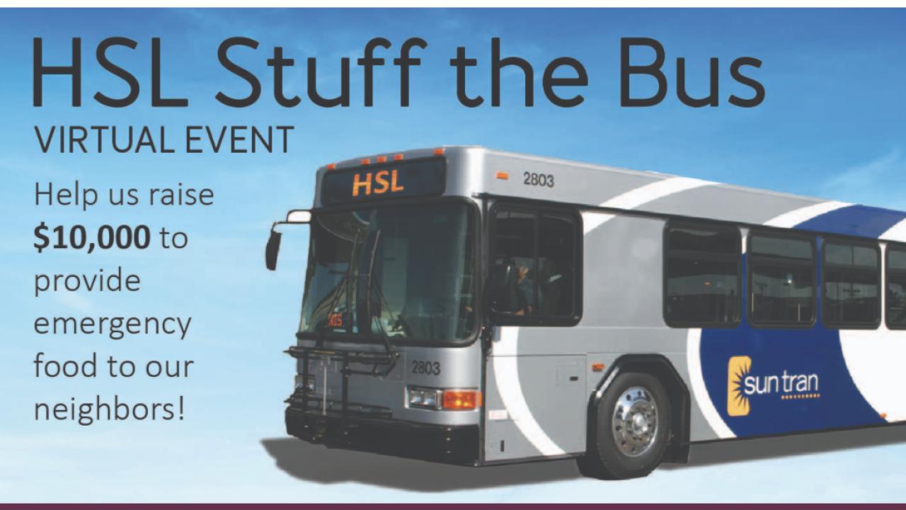 Stuff the Bus 2021 goes virtual