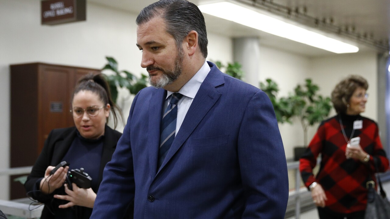 Sen. Ted Cruz under self-quarantine over COVID-19 fears