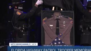 FHP trooper killed in line of duty honored with ceremony one year after deadly shooting