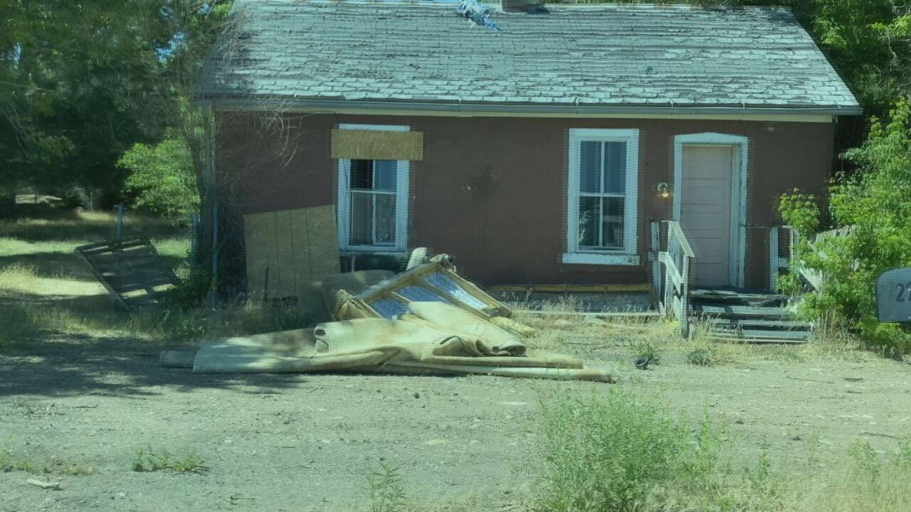 Condemned home in Walsenburg