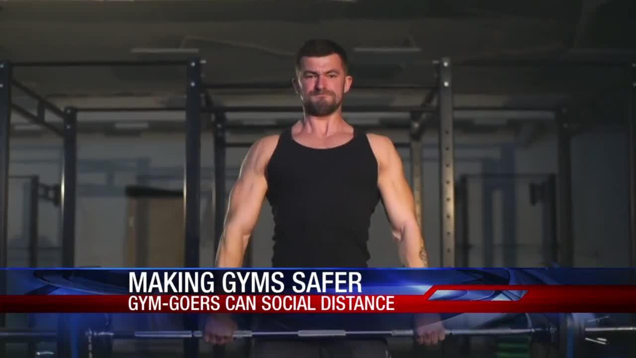 Gyms battle back against COVID concerns