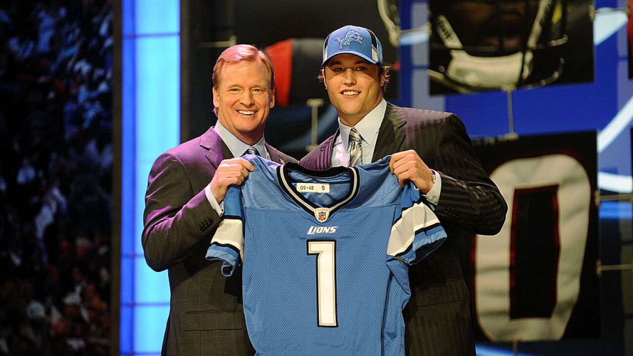Here's how the Detroit Lions have drafted in the past 20 years