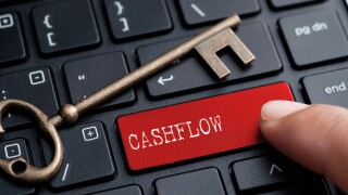 Cashflow stock image