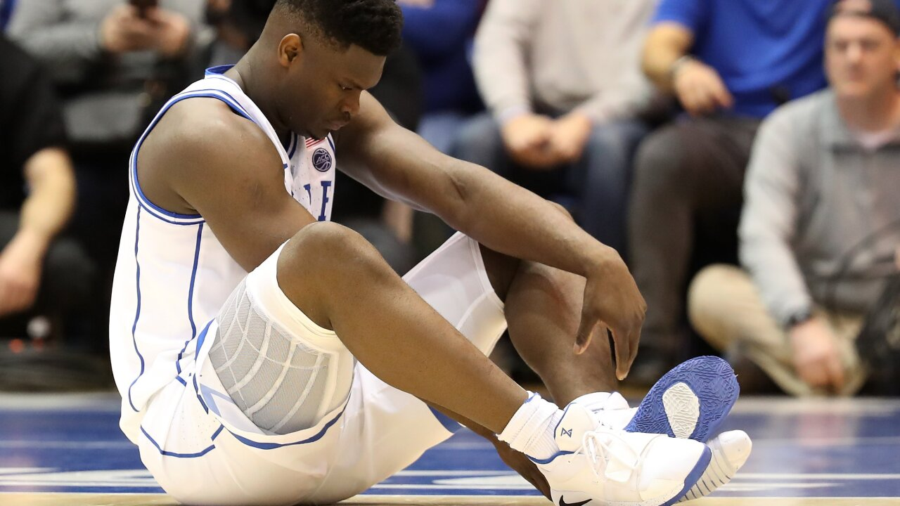 Nike's stock falls after Duke star is hurt as his sneaker comes apart