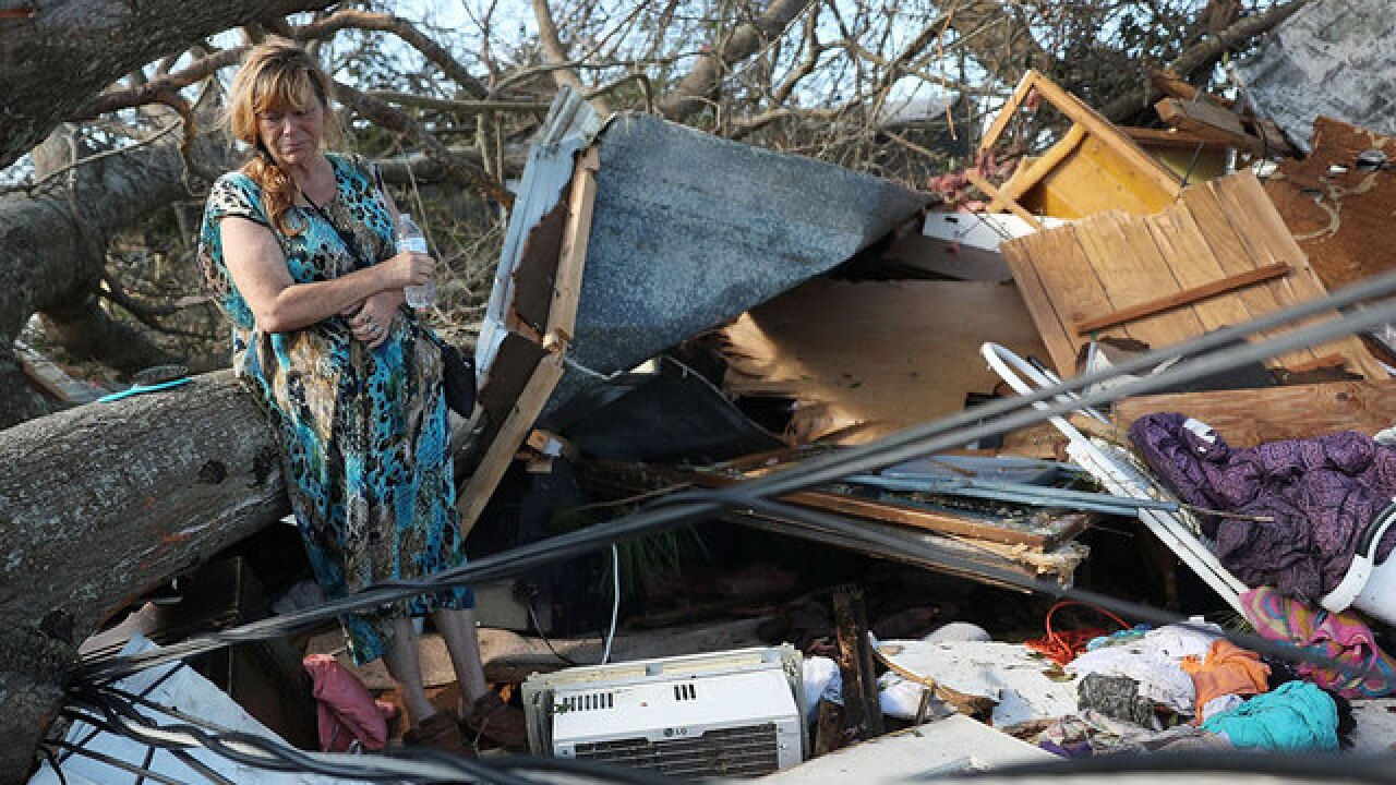 Florida cancels mobile morgues, no mass casualties found after Hurricane Michael