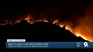 Bighorn firefighting efforts continue