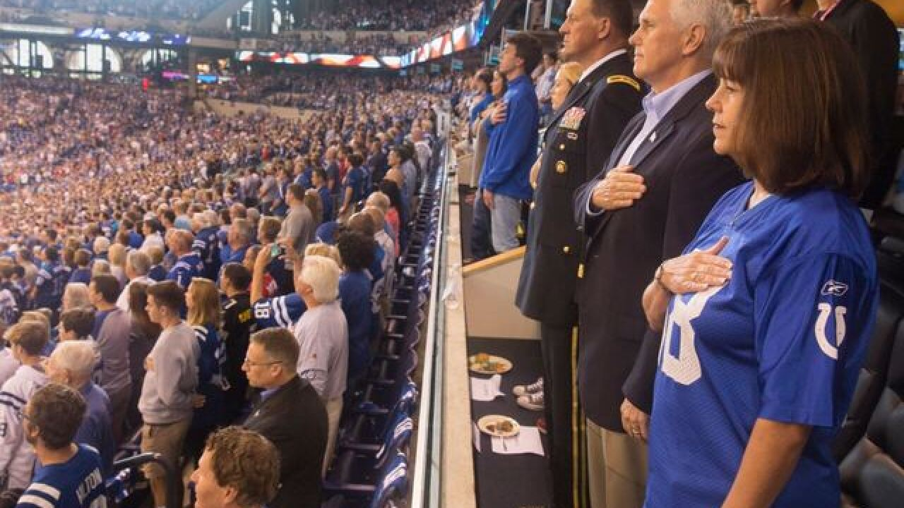 VP left Colts after 49ers knelt during anthem