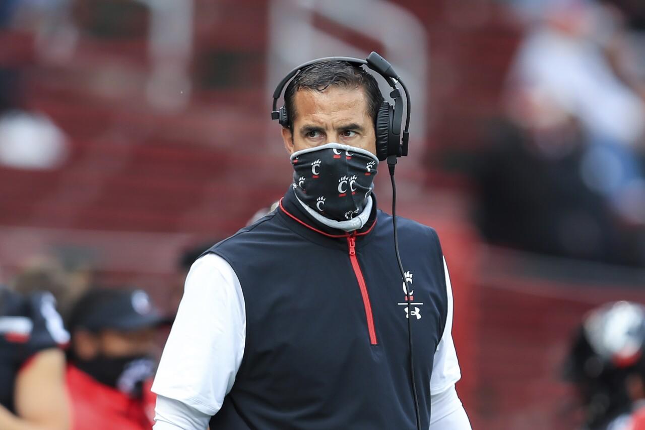 Cincinnati Bearcats head coach Luke Fickell in 2020