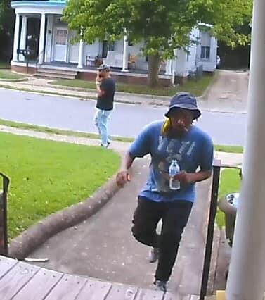 SU Wellens Street porch pirates (July 9)