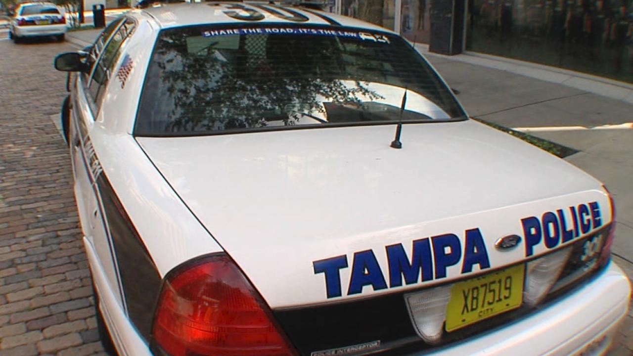 Tampa Police car generic