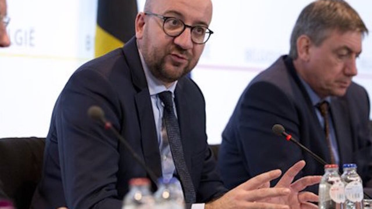 Laptop with photos of Belgian prime minister's office found near suspects' hideout