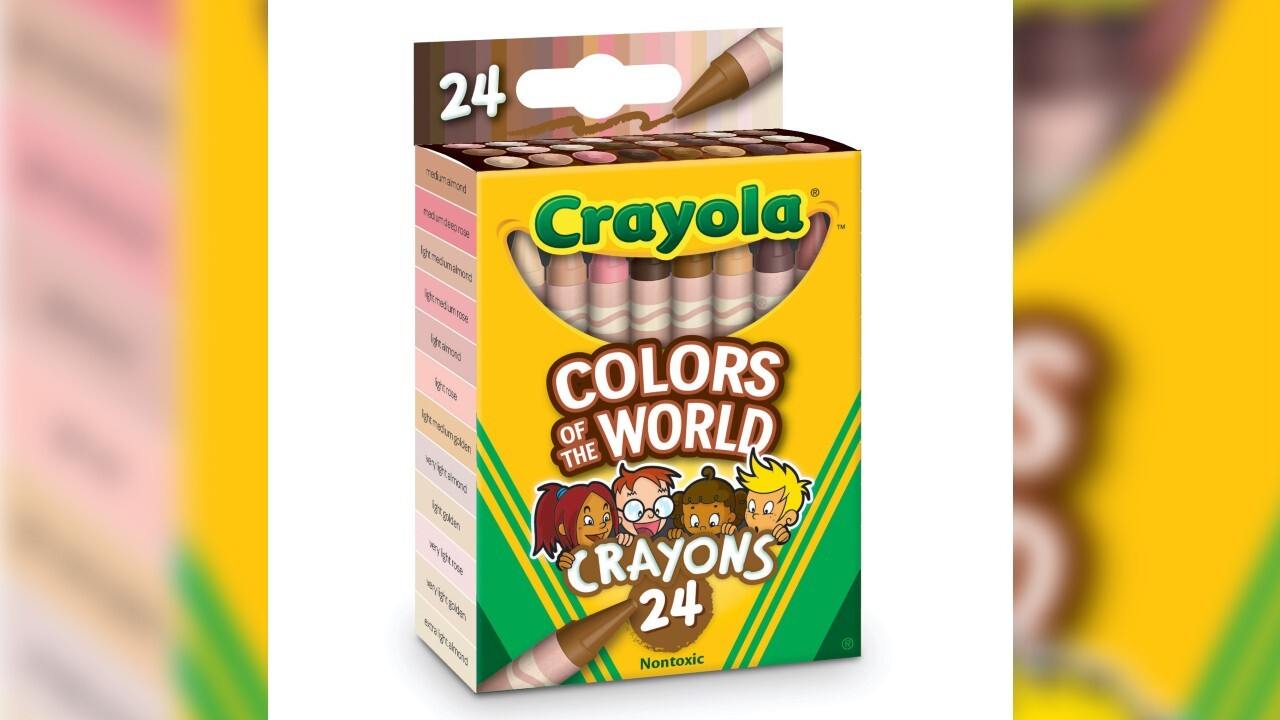 Crayola releasing new 'Colors of the World' box with skin tone-inspired crayons
