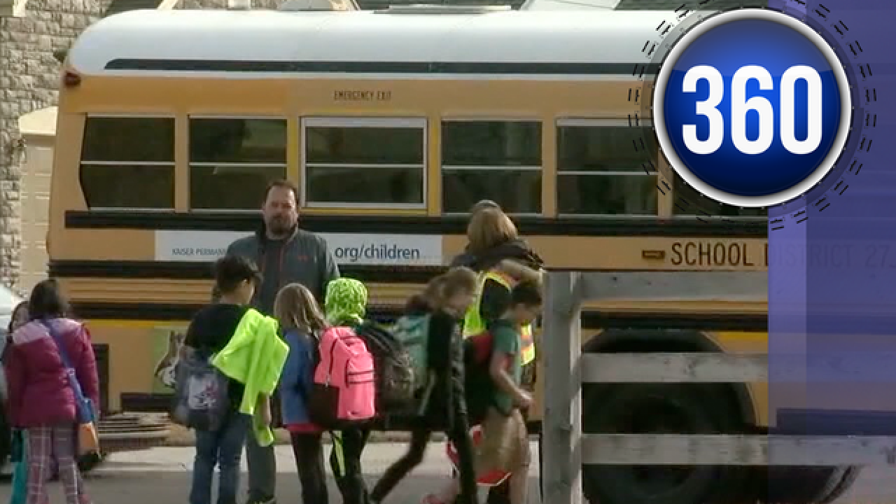 Denver-area school district moving to four-day school week