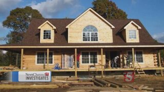 Customers Say They Were Duped By Log Cabin Company