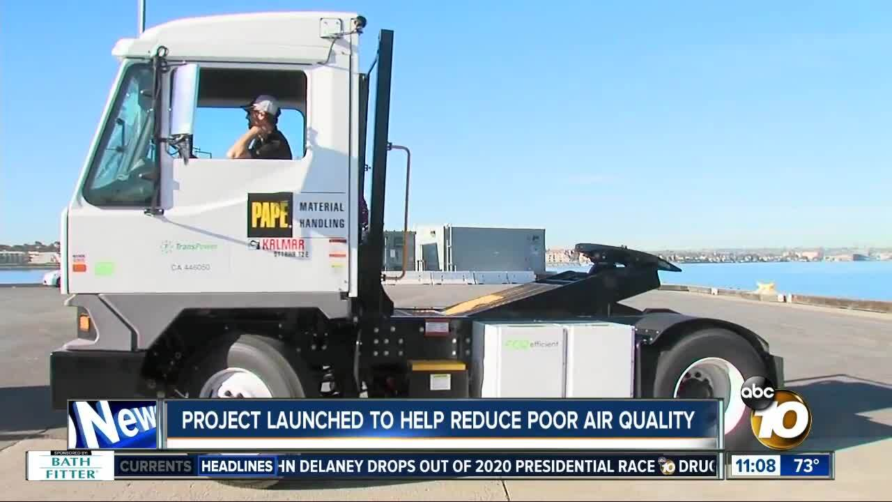 New program launched to help reduce poor air quality