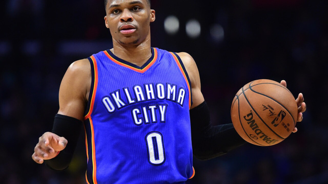 Russell Westbrook named finalist for NBA MVP