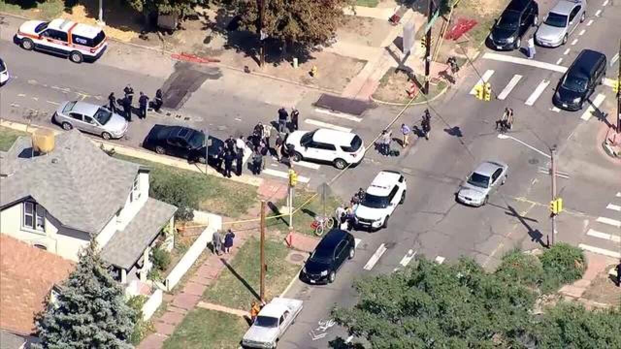 One person hospitalized after shooting near middle school in Denver