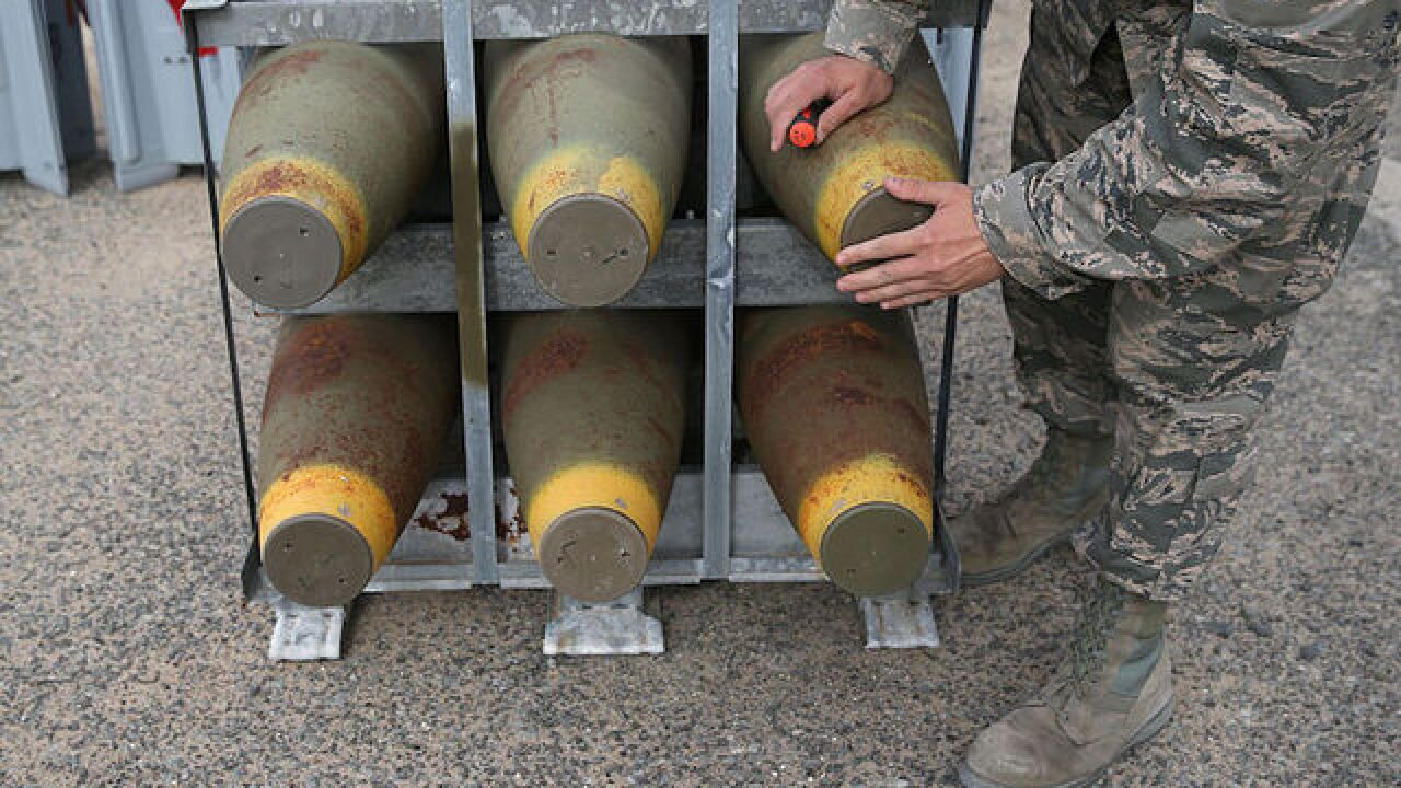 Air Force investigating drug use at nuke base