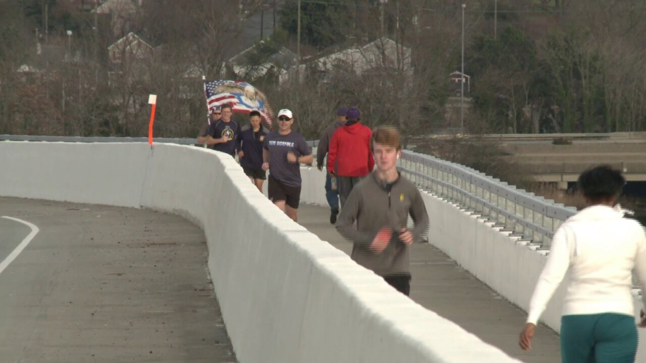 No hills? No problem! Runners lace up for weekly Jordan Bridge 'Rundays'