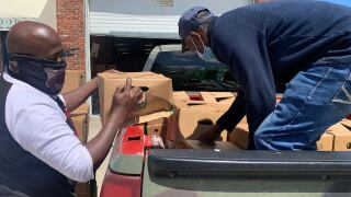 Local organization distributes 6 million meals to East Baltimore residents