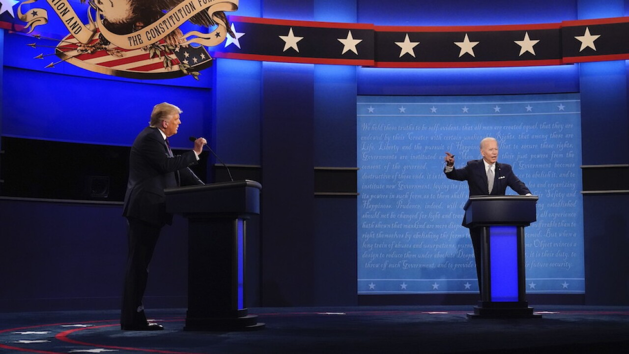 Reports: Commission on Presidential Debates cancels Oct. 15 Trump-Biden debate