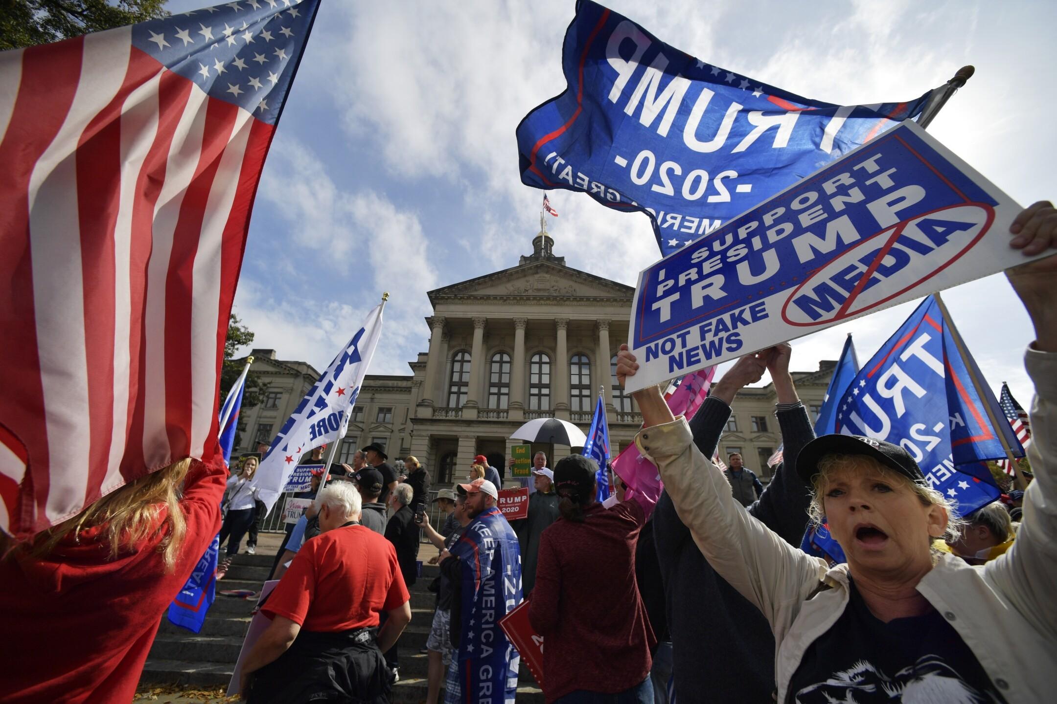 Election 2020 Georgia Protest