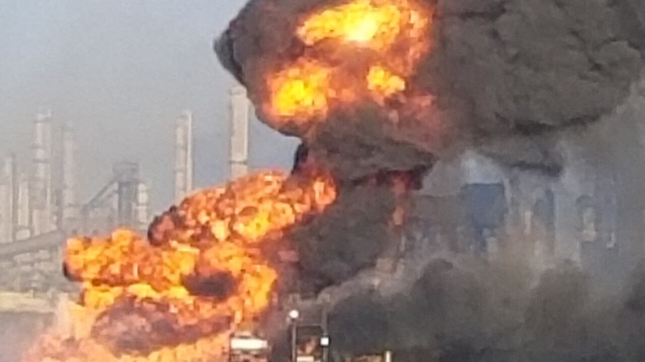 Multiple people injured, missing after pipeline explosion in Corpus Christi