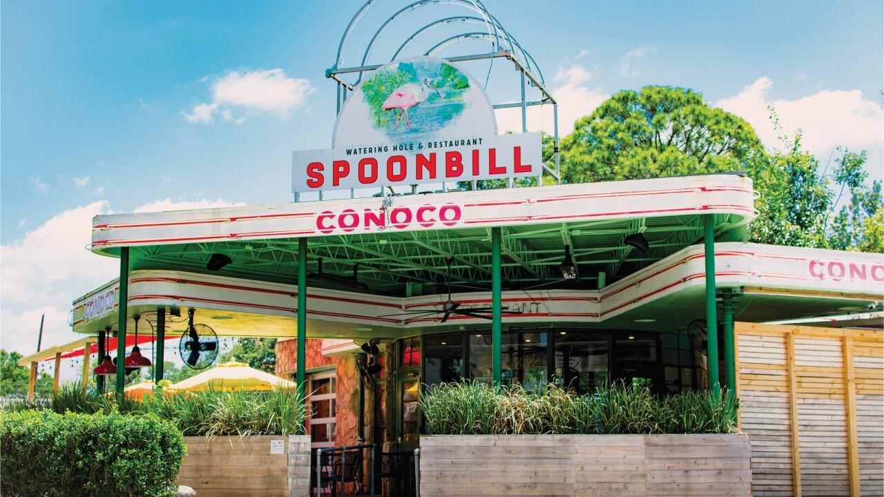 Spoonbill Watering Hole & Restaurant.