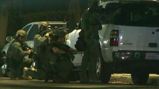 Man taken into custody after standoff in Spring Valley