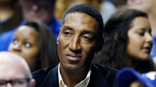 Scottie Pippen basketball