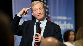 Tom Steyer officially announces presidential bid