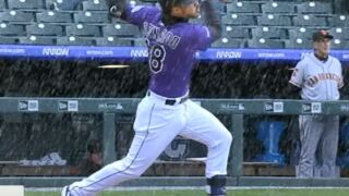 625b9b065d7 Rockies beat the Giants 12-11 in snowy