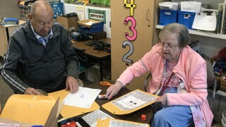 'Classroom grandparents' helping kids, teachers at Muskegon elementary school