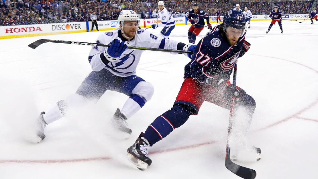 Tampa Bay Lightning v Columbus Blue Jackets - Game Three