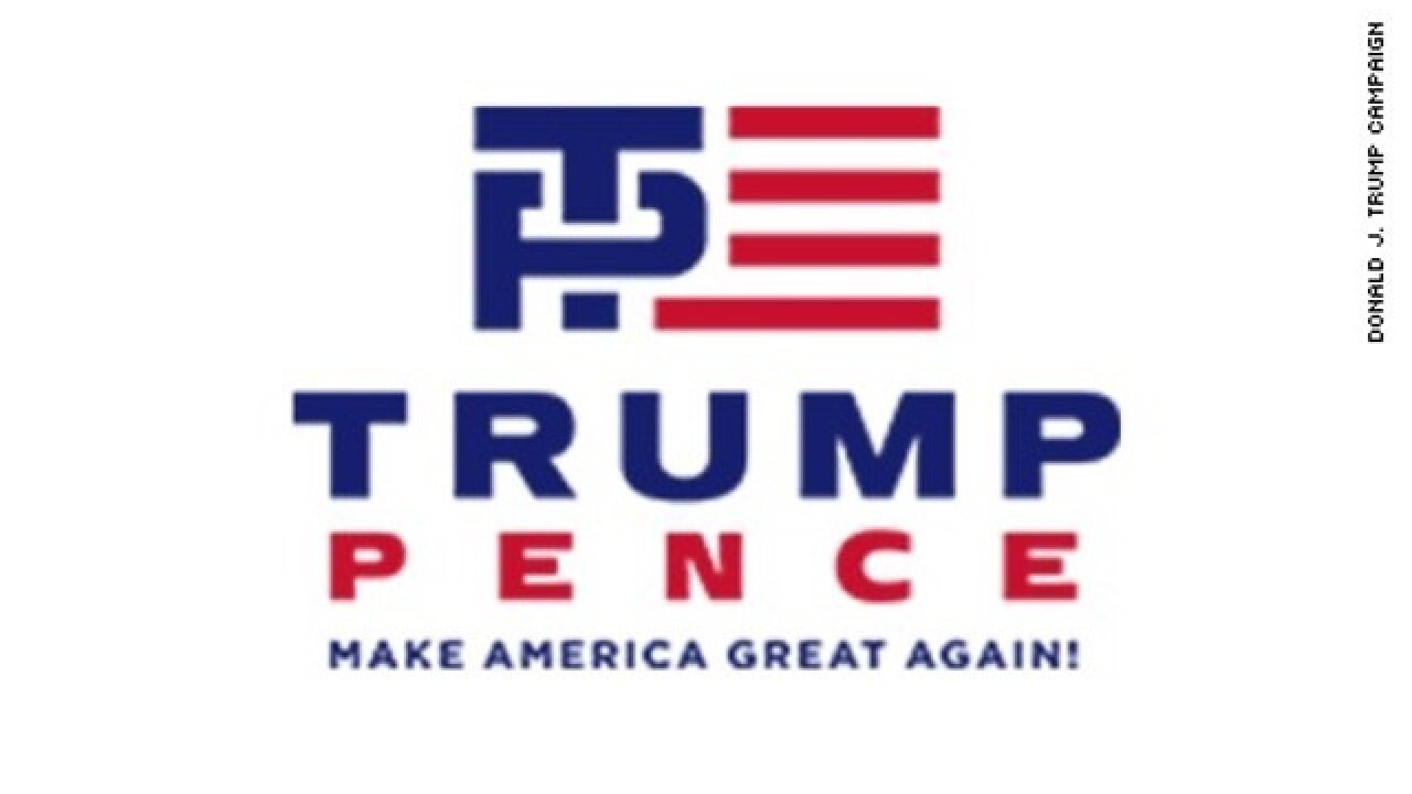 New Trump-Pence logo seen as a bit pervy by some