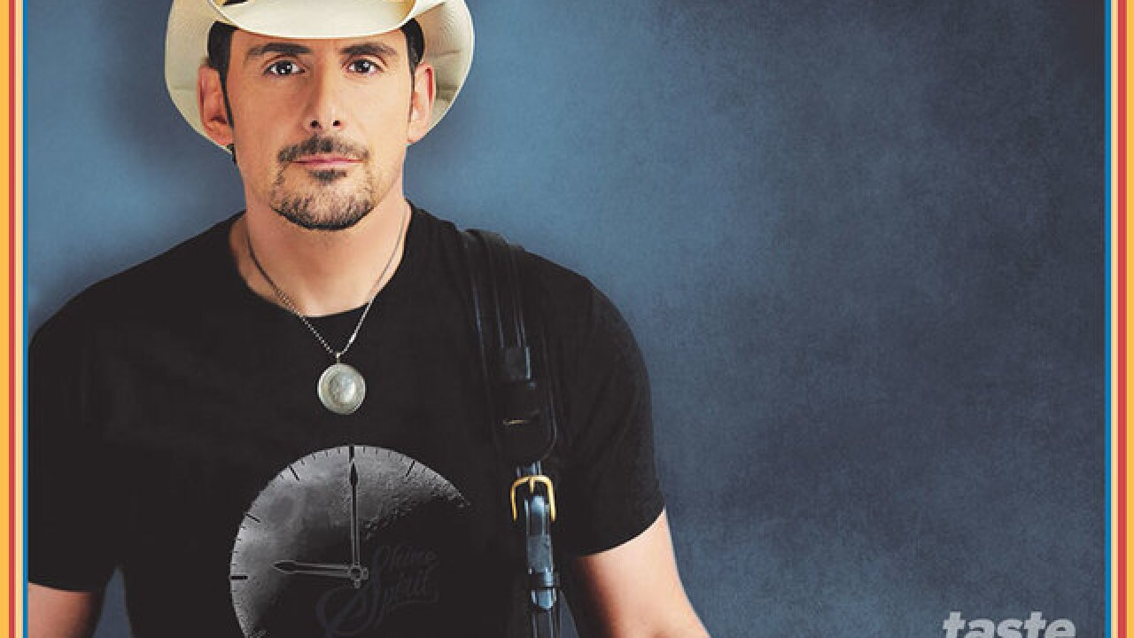 Brad Paisley's concert will go on as scheduled at Coral Sky Amphitheatre on Friday