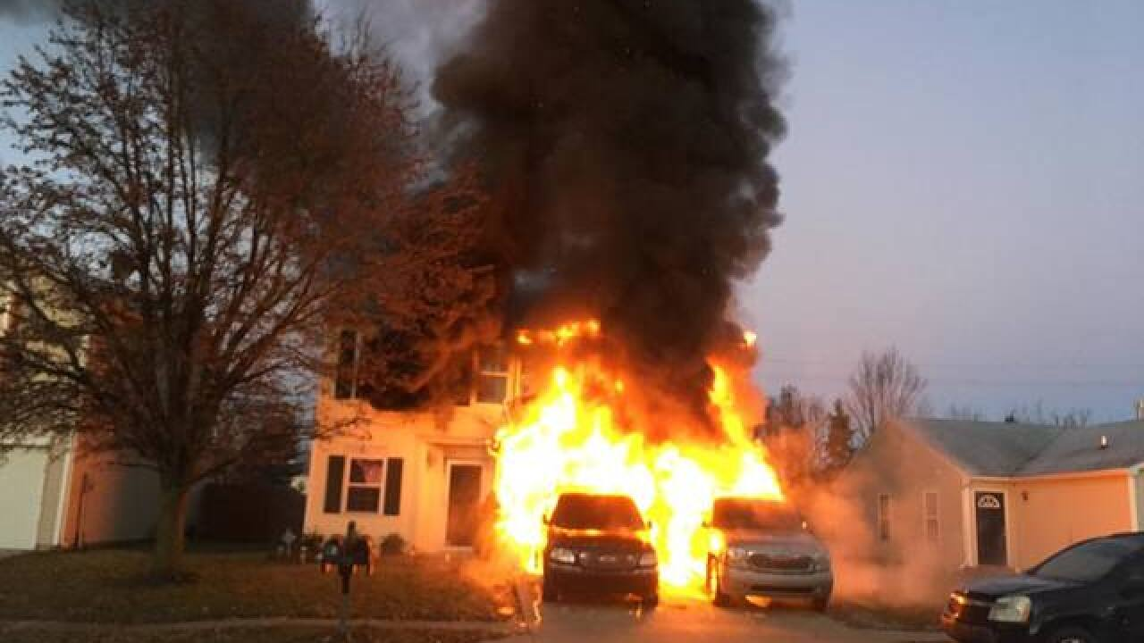 Six dogs killed in fire at home on Indy's west side