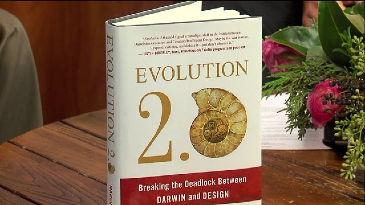 Author Perry Marshall introduced his latest work, 'Evolution 2.0'