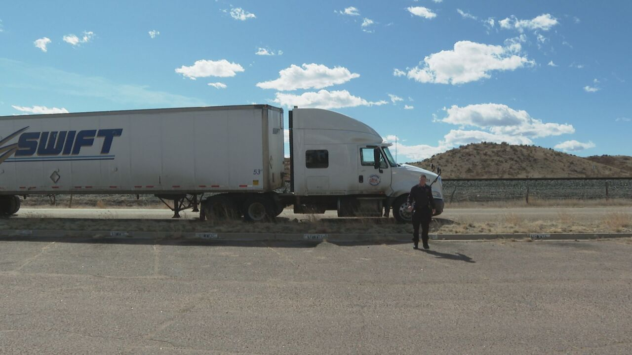 """""""No need to panic"""" Truckers say they will keep going through pandemic"""